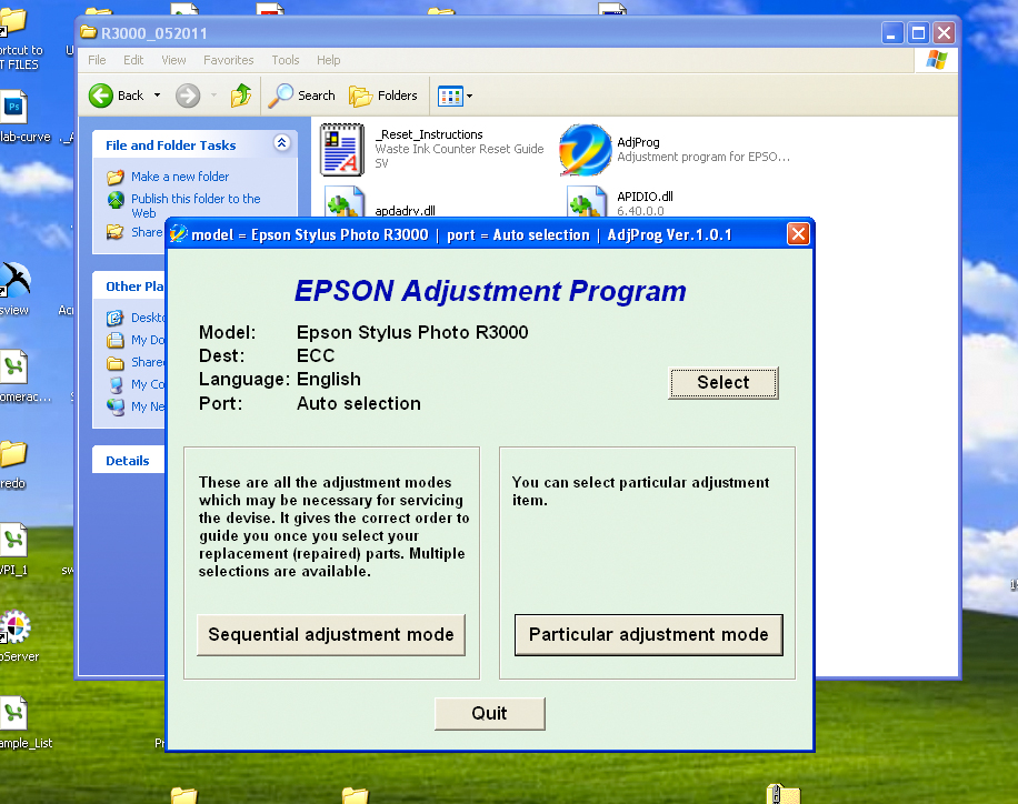 Install procedures for Epson® Photo R3000 - Piezography