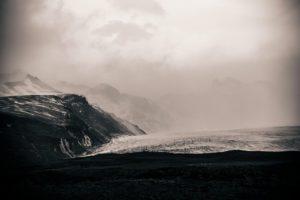 The Skaftafellsjökull glacier